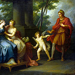 Kaufmann, Angelica – Venus convinces Helen to love Paris, part 06 Hermitage