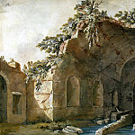 Klerisso, Charles-Louis – Grotto of Nymph Egeria, part 06 Hermitage