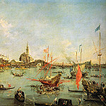 The Italian artists - Guardi, Francesco (Italian, 1712-1793)