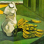 The Italian artists - Chirico, Giorgio de (Italian, 1888-1974)