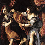 CIGOLI Joseph And Potiphars Wife, The Italian artists
