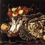 Итальянские художники - SALINI Tommaso Still life With Fruit Vegetables And Animals