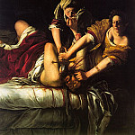 The Italian artists - Gentileschi, Artemisia (Italian, approx. 1593-1653)
