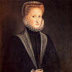 Anguisciola Sofonisba Anne Of Austria Queen Of Spain, Итальянские художники