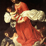 The Italian artists - BAGLIONE Giovanni The Virgin And The Child With Angels