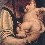 The Italian artists - CAMBIASO Luca Virgin And Child