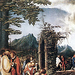 The Italian artists - ALSLOOT Denis van Communion Of The Apostles