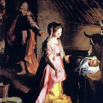 The Italian artists - BAROCCI Federico Fiori The Nativity