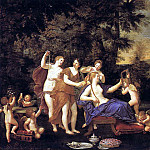 The Italian artists - ALBANI Francesco Venus Attended By Nymphs And Cupids