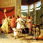 Zoochi Guglielmo A Roman Dance, The Italian artists