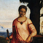 The Italian artists - Giorgio da Castelfranco called Giorgione Judith
