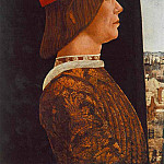 ROBERTI Ercole de Portrait Of Giovanni II Bentivoglio, The Italian artists