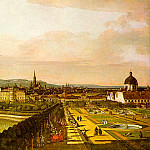 The Italian artists - Bellotto, Bernardo (Italian, 1721-1780)