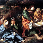 The Italian artists - BADALOCCHIO Sisto The Entombment Of Christ
