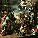 The Italian artists - Solimena, Francesco (Italian, 1657-1747)