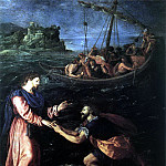 ALLORI Alessandro St Peter Walking On The Water, Alessandro Allori