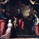 The Italian artists - BARTOLOMEO Fra The Marriage Of St Catherine Of Siena