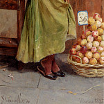 Novo Stefano The Peach Seller, The Italian artists