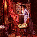 Vianelli Achille IL Studio Da Pittura, The Italian artists