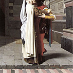 The Italian artists - The Embrace of Fra Filippo Lippi and Lucrezia Buti