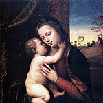 The Italian artists - Albertinelli Mariotto Madonna And Child