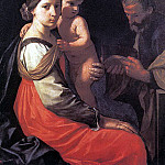 CANTARINI Simone Holy Family, The Italian artists