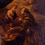 The Italian artists - Assereto Gioacchino Saint Anthony