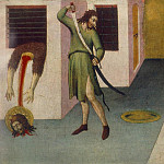 SANO di Pietro Beheading Of St John The Baptist, Итальянские художники