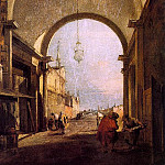Guardi, Francesco guardi2, The Italian artists