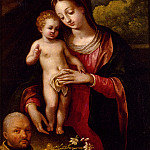 The Italian artists - Fontana Lavinia The Madonna And Child With A Donor