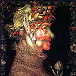 The Italian artists - Arcimboldo, Giuseppe (Italian, approx. 1530-1593)