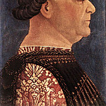 The Italian artists - BEMBO Bonifazio Portrait Of Francesco Sforza