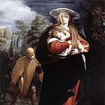 ANSALDO G Andrea The Flight Into Egypt, The Italian artists