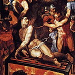 The Italian artists - TIBALDI Pellegrino Martyrdom Of St Lawrence