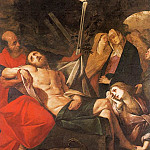 The Italian artists - CRESPI Giovanni Battista Entombment Of Christ