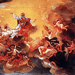 The Italian artists - BACICCIO Apotheosis Of St Ignatius