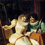 The Italian artists - Ricci Pio Elegant Couples In Interiors Pic 2