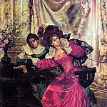 The Italian artists - Ricci Pio The Love Letter