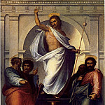 The Italian artists - BARTOLOMEO Fra Christ With The Four Evangelists