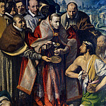 The Italian artists - Varallo Tanzio Da St Carlo Borromeo Giving Communion To The Plague Victims