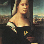 The Italian artists - Bugiardini, Giuliano (Italian, 1476-1555) The Nun