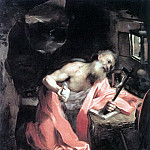 The Italian artists - BAROCCI Federico Fiori St Jerome
