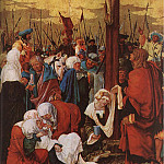 The Italian artists - ALSLOOT Denis van Christ On The Cross 1520 Detail 1