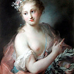 Carriera Rosalba nymph from apollos retinue 1721, The Italian artists