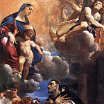 The Italian artists - Carracci Lodovico The Virgin Appearing to St Hyacinth