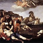 The Italian artists - CAMASSEI Andrea The Massacre Of The Niobids