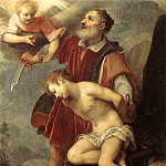 The Italian artists - CIGOLI The Sacrifice Of Isaac