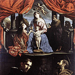 The Italian artists - PAOLINI Pietro The Mystic Marriage Of St Catherine Of Alexandria
