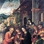 The Italian artists - FASOLO Bernardino Nativity