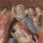 The Italian artists - DOMENICO di Bartolo Madonna of Humility